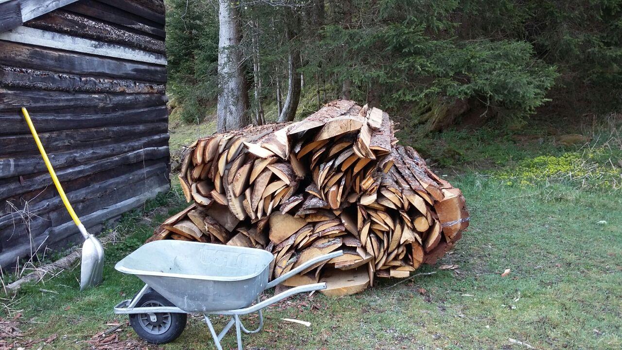 2018 april – brennholz machen, drohnbilder